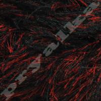 1381 красно-черный меланж