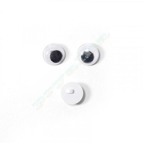 Глазки бегающие пришивные