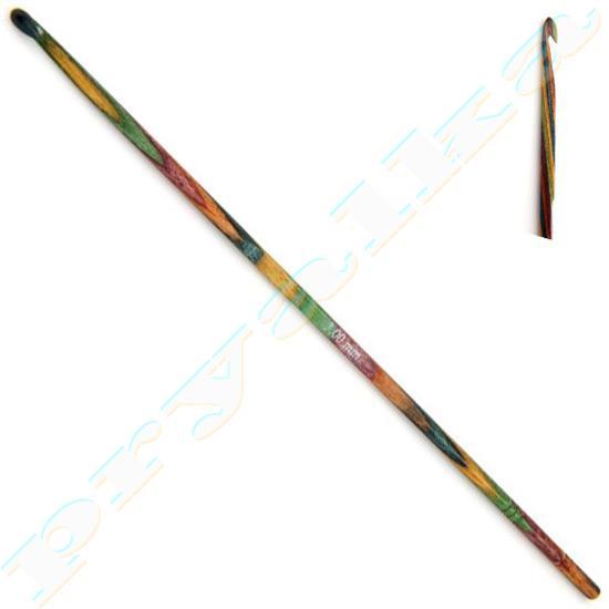 Крючок KnitPro деревянный односторонний