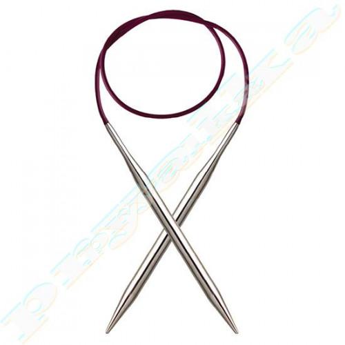 Спицы KnitPro круговые стальные Nova Metal