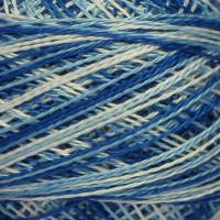 1211 бело-голубой меланж