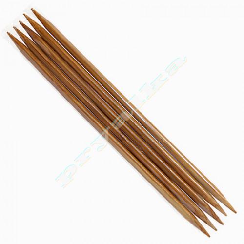 Спицы носочные деревянные 20 см
