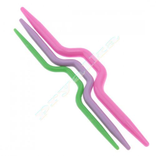 Набор спиц для вязания кос 3 шт.