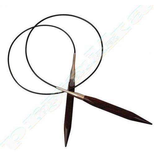 Спицы KnitPro круговые деревянные Cubics