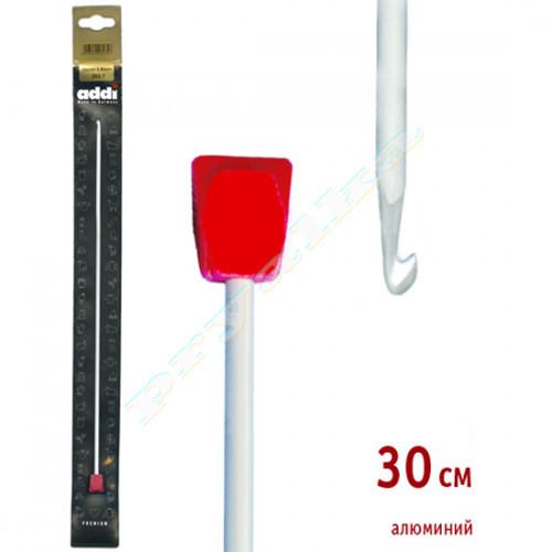 Крючок Addi тунисский, алюминий (30 см.)