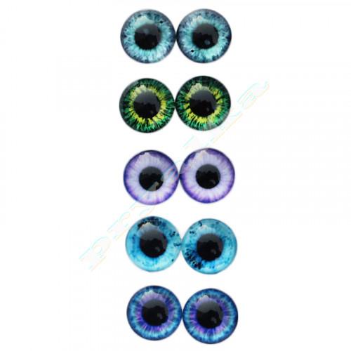Глазки 16 мм живые (кабошон)