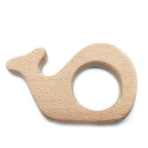 """Прорезыватель для зубов деревянный """"Кит"""""""