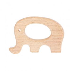 """Прорезыватель для зубов деревянный """"Слон"""""""