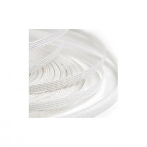 Регилин плоский 4 мм белый